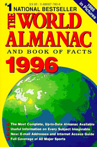 9780886877804: The World Almanac and Book of Facts 1996