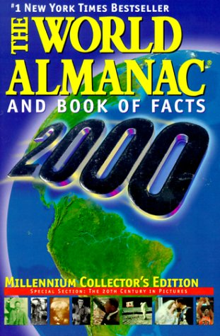 9780886878474: World Almanac and Book of Facts: 2000
