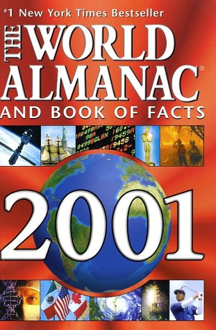 9780886878627: The World Almanac and Book of Facts 2001