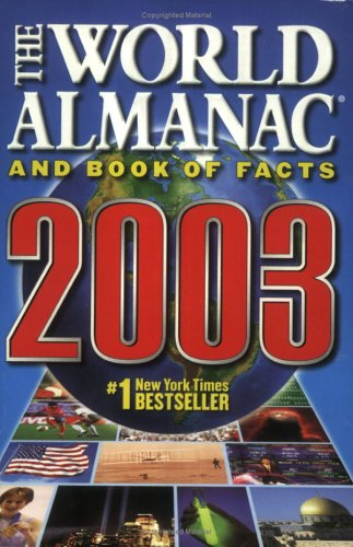 9780886878825: The World Almanac and Book of Facts 2003