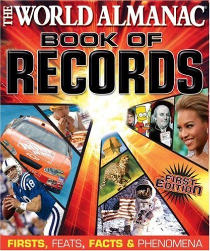 9780886879464: World Almanac Book of Records: Firsts, Feats, Facts & Phenomena