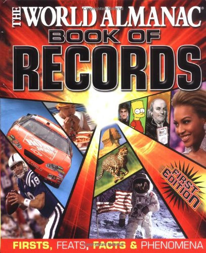 9780886879785: World Almanac Book of Records: Firsts, Feats, Facts & Phenomena