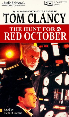 The Hunt for Red October (audio book): Clancy, Tom