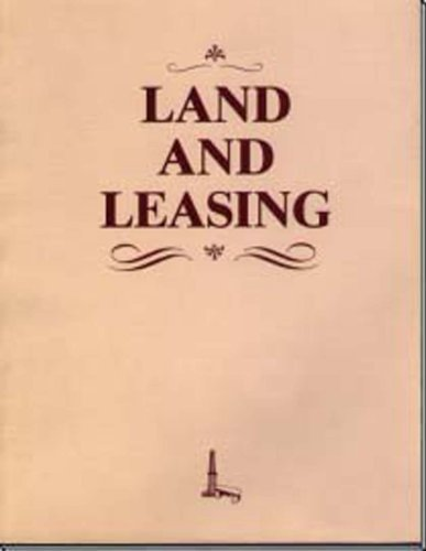 9780886980948: Land and Leasing