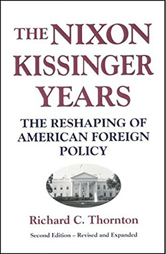 9780887020681: Nixon-Kissinger Years: The Reshaping of American Foreign Policy
