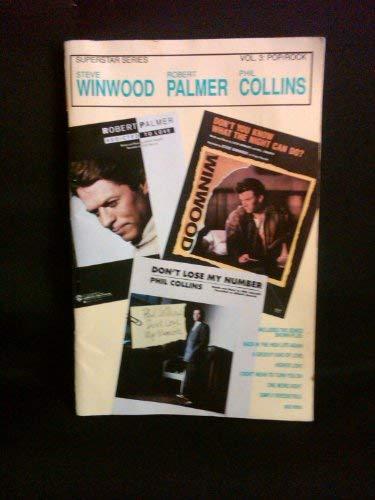 9780887042287: Steve Winwood, Robert Palmer, Phil Collins (Superstar Series, Vol. 3: Pop/Rock)