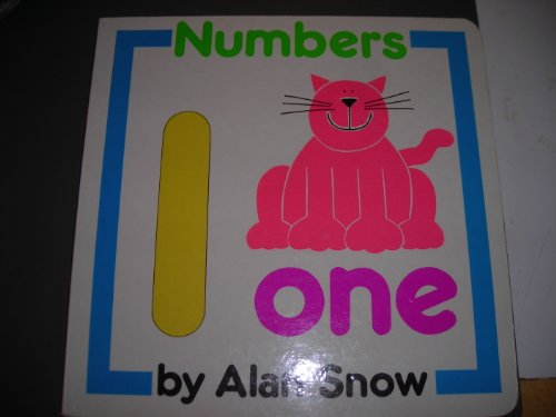 Numbers (Early Learning Board Book): Snow, Alan