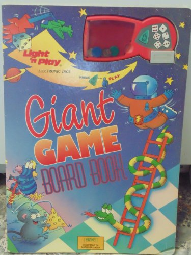 9780887057397: Giant Game Board Book: 6 Electronic Dice Games