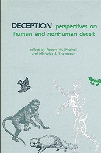 9780887061073: Deception: Perspectives on Human and Nonhuman Deceit (Suny Series in Animal Behavior)