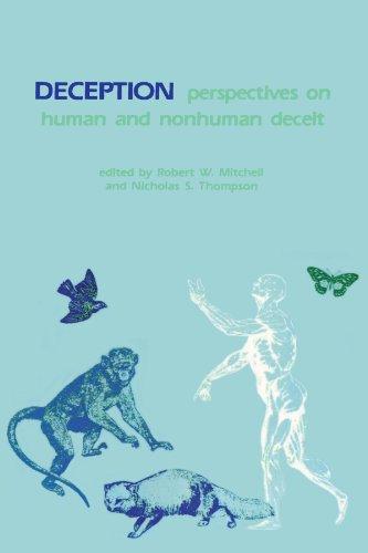 9780887061080: Deception: Perspectives on Human and Nonhuman Deceit (SUNY Series on Animal Behavior)