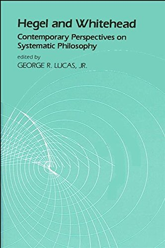 9780887061448: Hegel and Whitehead: Contemporary Perspectives on Systematic Philosophy (SUNY Series in Hegelian Studies)