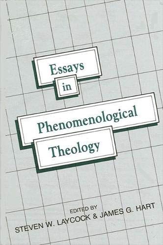 9780887061646: Essays in Phenomenological Theology