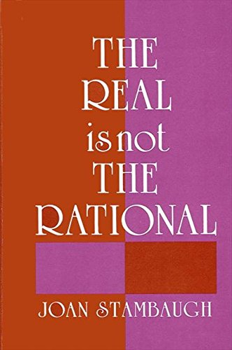 9780887061660: Real Is Not the Rational (Suny Series in Buddhist Studies)