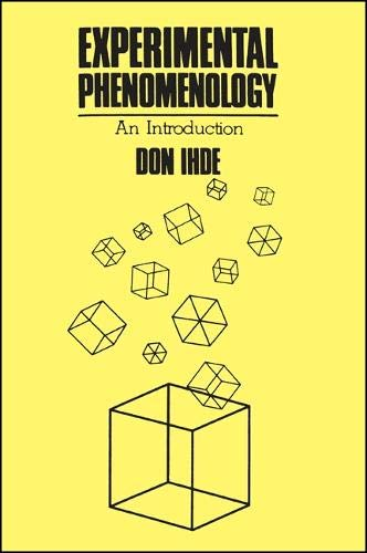 9780887061981: Experimental Phenomenology: An Introduction