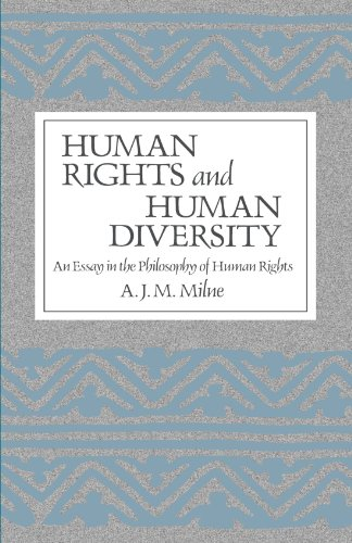 9780887063671: Human Rights and Human Diversity: An Essay in the Philosophy of Human Rights