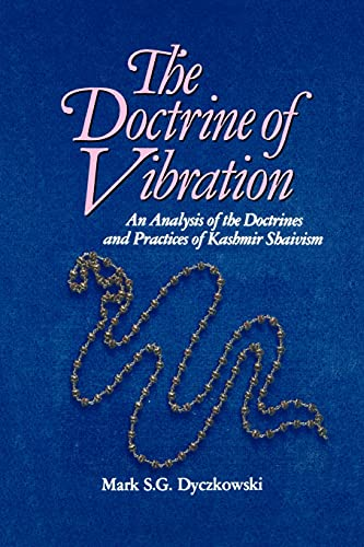 9780887064326: The Doctrine of Vibration: An Analysis of the Doctrines and Practices of Kashmir Shaivism