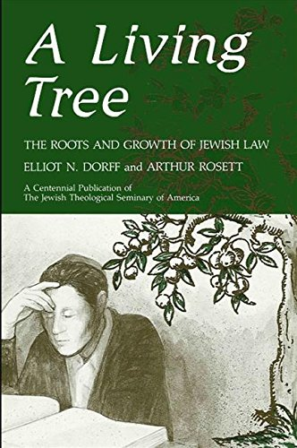 9780887064593: A Living Tree: The Roots and Growth of Jewish Law