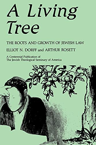 9780887064609: A Living Tree: The Roots and Growth of Jewish Law