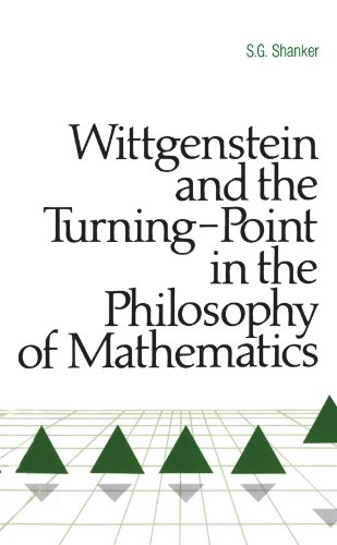 9780887064838: Wittgenstein and the Turning Point in the Philosophy of Mathematics