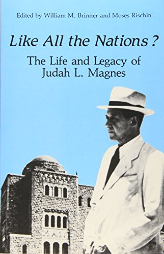 9780887065088: Like All the Nations?: The Life and Legacy of Judah L. Magnes