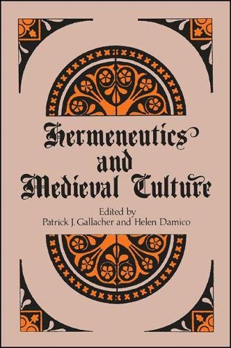 9780887067433: Hermeneutics and Medieval Culture