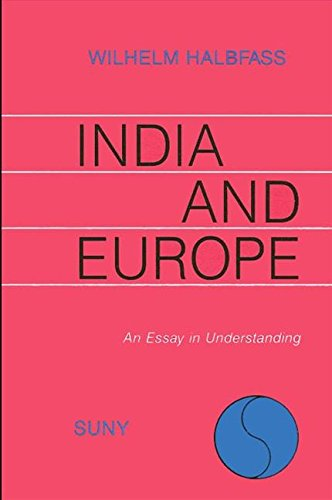 9780887067945: India and Europe: Encounters and Reflections