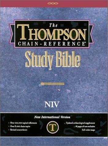 9780887070020: Thompson Chain-Reference Study Bible-NIV