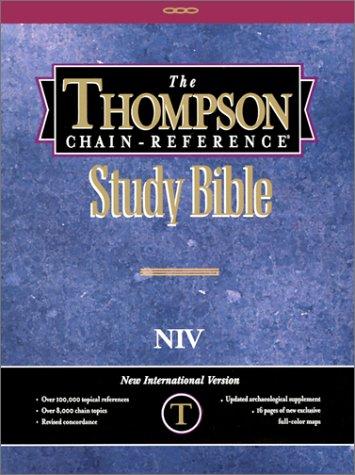9780887070242: Thompson Chain Reference Study Bible-NIV