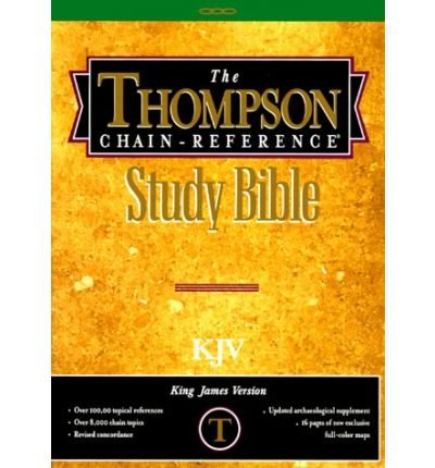 9780887070549: Thompson Chain Reference Bible