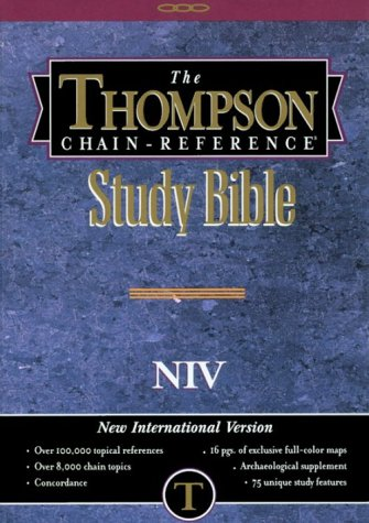 9780887070891: Thompson Chain Reference Bible New International Version (Order #833)