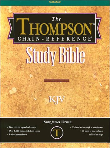 9780887071010: Thompson Chain-Reference Study Bible-KJV