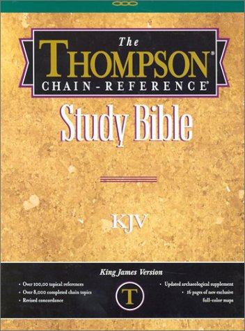 9780887071027: Thompson Chain-Reference Study Bible-KJV