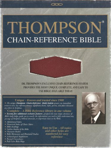9780887071034: Thompson Chain-Reference Study Bible-KJV