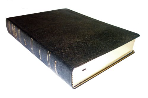 9780887071058: KJV - Black Genuine Leather - Regular Size - Indexed - Thompson Chain Reference Bible (025060)