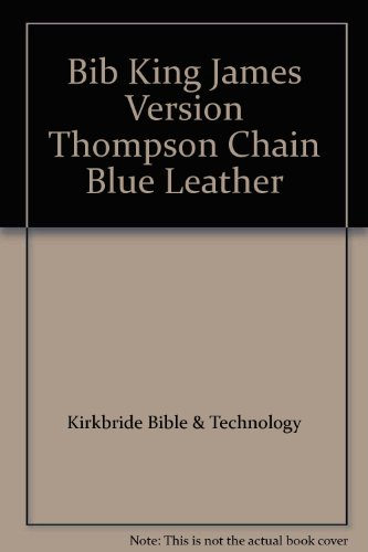 9780887071133: Thompson Chain Reference Bible