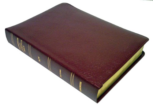 9780887071508: KJV - Burgundy Bonded Leather - Large Print - Thompson Chain Reference Bible (015193)