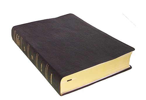 9780887071546: KJV - Black Genuine Leather - Large Print - Thompson Chain Reference Bible (015140)