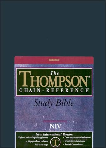 9780887071621: Thompson Chain-Reference Study Bible-NIV