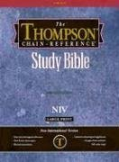 9780887071645: Large Print Thompson Chain Reference Bible-NIV