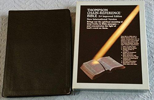 9780887071652: Large Print Thompson Chain Reference Bible-NIV