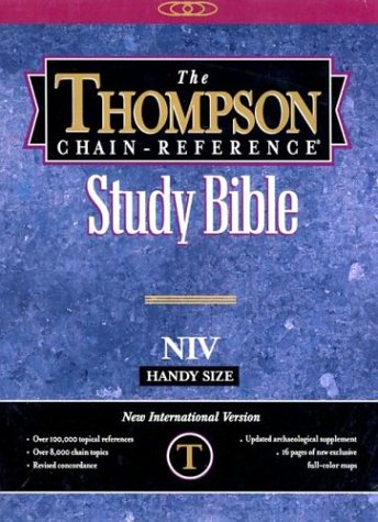 9780887071768: Thompson Chain Reference Bible-NIV-Handy Size