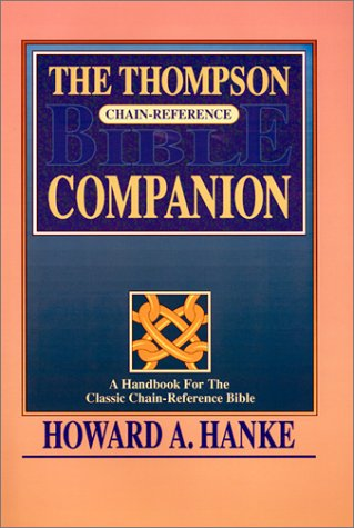 9780887072000: Thompson Chain-Reference Bible Companion (INDEXED)