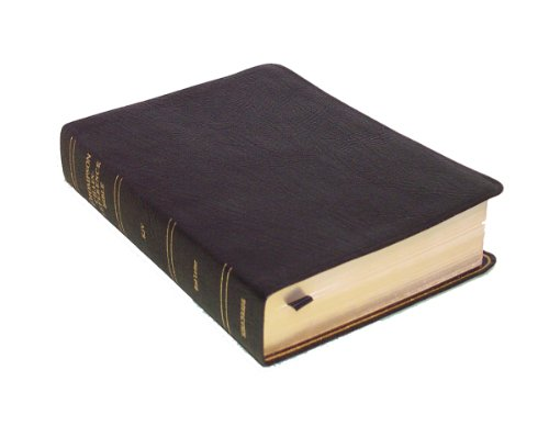 9780887072017: KJV - Black Genuine Leather - Handy Size - Thompson Chain Reference Bible (015360)