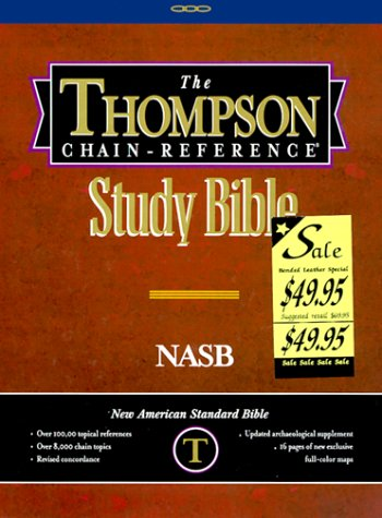 9780887072222: Thompson Chain-Reference Study Bible
