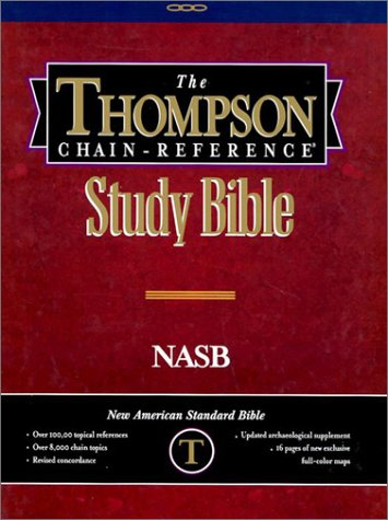 9780887072239: Thompson Chain-Reference Study Bible
