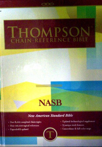 9780887072260: Thompson NASB Chain Reference Bible