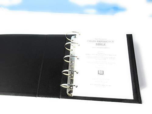 9780887073038: Looseleaf Thompson-Chain Reference Wide Margin Bible-KJV