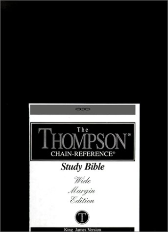 9780887073045: Thompson Chain Reference Wide Margin Bible-KJV