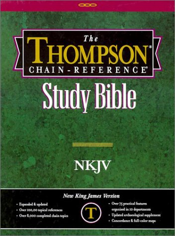 9780887073120: Thompson Chain-Reference Study Bible