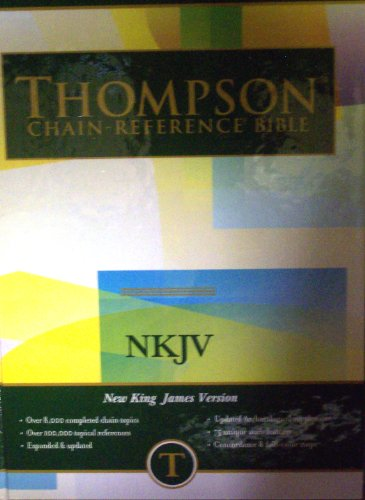 Thompson Chain Reference Bible (Style 313) - Regular Size NKJV - Hardcover: Frank Charles Thompson